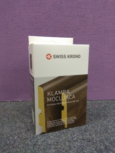 Klamry do listew Swiss Krono P85 i PS5 50 szt.